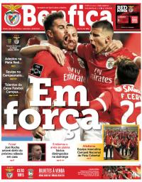 capa Jornal Benfica de 22 fevereiro 2018