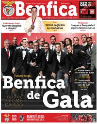 capa Jornal Benfica de 23 março 2018