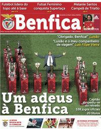 capa Jornal Benfica de 27 setembro 2018