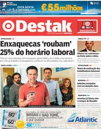 capa Jornal Destak de 5 julho 2018