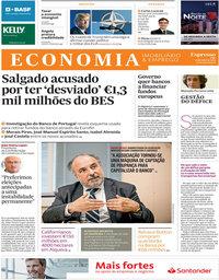 capa Jornal Expresso Economia de 14 julho 2018