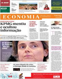 capa Jornal Expresso Economia de 21 julho 2018