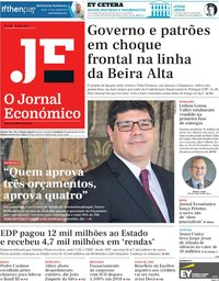 capa Jornal Económico de 20 julho 2018