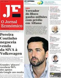 capa Jornal Económico de 27 julho 2018