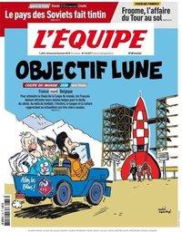 capa Jornal L'Équipe de 8 julho 2018