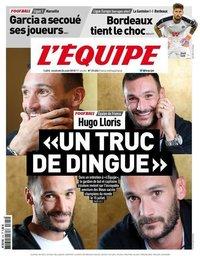 capa Jornal L'Équipe de 24 agosto 2018