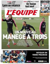 capa Jornal L'Équipe de 25 agosto 2018