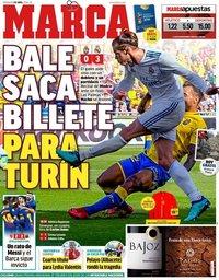 capa Jornal Marca de 1 abril 2018