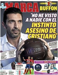 capa Jornal Marca de 2 abril 2018