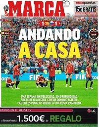 capa Jornal Marca de 2 julho 2018