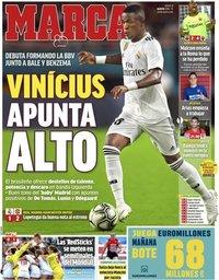 capa Jornal Marca de 2 agosto 2018