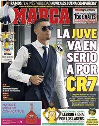 capa Jornal Marca de 3 julho 2018