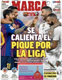 capa Jornal Marca de 3 setembro 2018