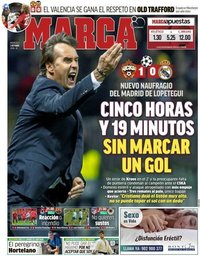 capa Jornal Marca de 3 outubro 2018