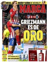 capa Jornal Marca de 4 outubro 2018