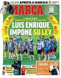 capa Jornal Marca de 5 setembro 2018