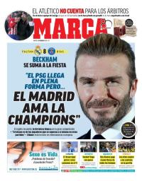 capa Jornal Marca de 6 fevereiro 2018