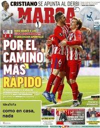 capa Jornal Marca de 6 abril 2018
