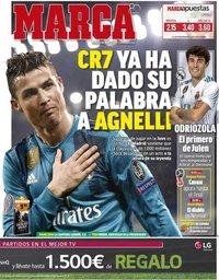 capa Jornal Marca de 6 julho 2018