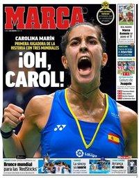 capa Jornal Marca de 6 agosto 2018