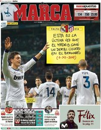capa Jornal Marca de 7 abril 2018