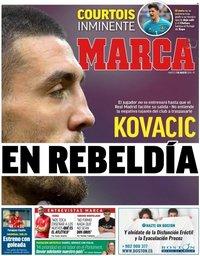 capa Jornal Marca de 7 agosto 2018