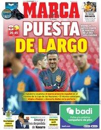 capa Jornal Marca de 8 setembro 2018