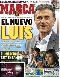 capa Jornal Marca de 9 julho 2018