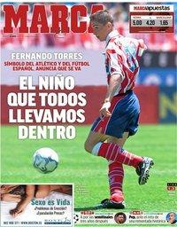 capa Jornal Marca de 10 abril 2018