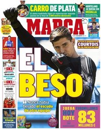 capa Jornal Marca de 10 agosto 2018