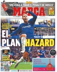 capa Jornal Marca de 10 outubro 2018