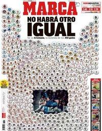 capa Jornal Marca de 11 julho 2018