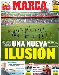 capa Jornal Marca de 11 setembro 2018
