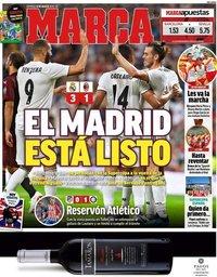 capa Jornal Marca de 12 agosto 2018