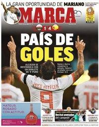 capa Jornal Marca de 12 outubro 2018