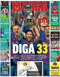 capa Jornal Marca de 13 agosto 2018