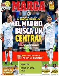 capa Jornal Marca de 13 outubro 2018