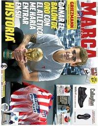 capa Jornal Marca de 14 outubro 2018