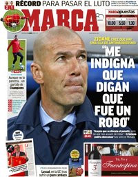 capa Jornal Marca de 15 abril 2018