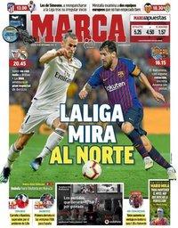 capa Jornal Marca de 15 setembro 2018