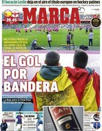capa Jornal Marca de 15 outubro 2018
