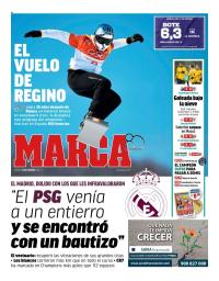 capa Jornal Marca de 16 fevereiro 2018