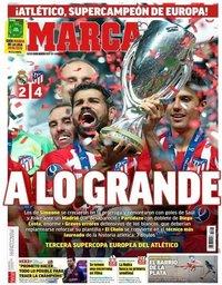 capa Jornal Marca de 16 agosto 2018