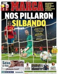 capa Jornal Marca de 16 outubro 2018