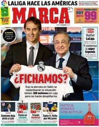 capa Jornal Marca de 17 agosto 2018
