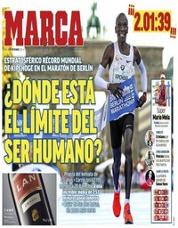 capa Jornal Marca de 17 setembro 2018