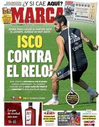 capa Jornal Marca de 17 outubro 2018