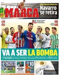 capa Jornal Marca de 18 agosto 2018