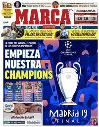 capa Jornal Marca de 18 setembro 2018
