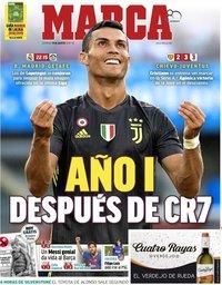 capa Jornal Marca de 19 agosto 2018